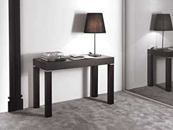 Elegant Space Saving Furniture Olbia Esstisch Konsole Tisch Zu Lang Ausziehbar  Beige Matt Real Wood Grain