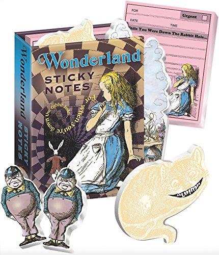 Alice in Wonderland Sticky Notes Booklet -