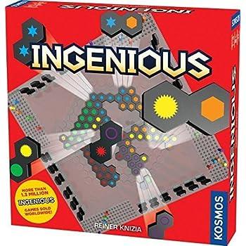 Thames & Kosmos Ingenious (New Plastic Board Edition) Game