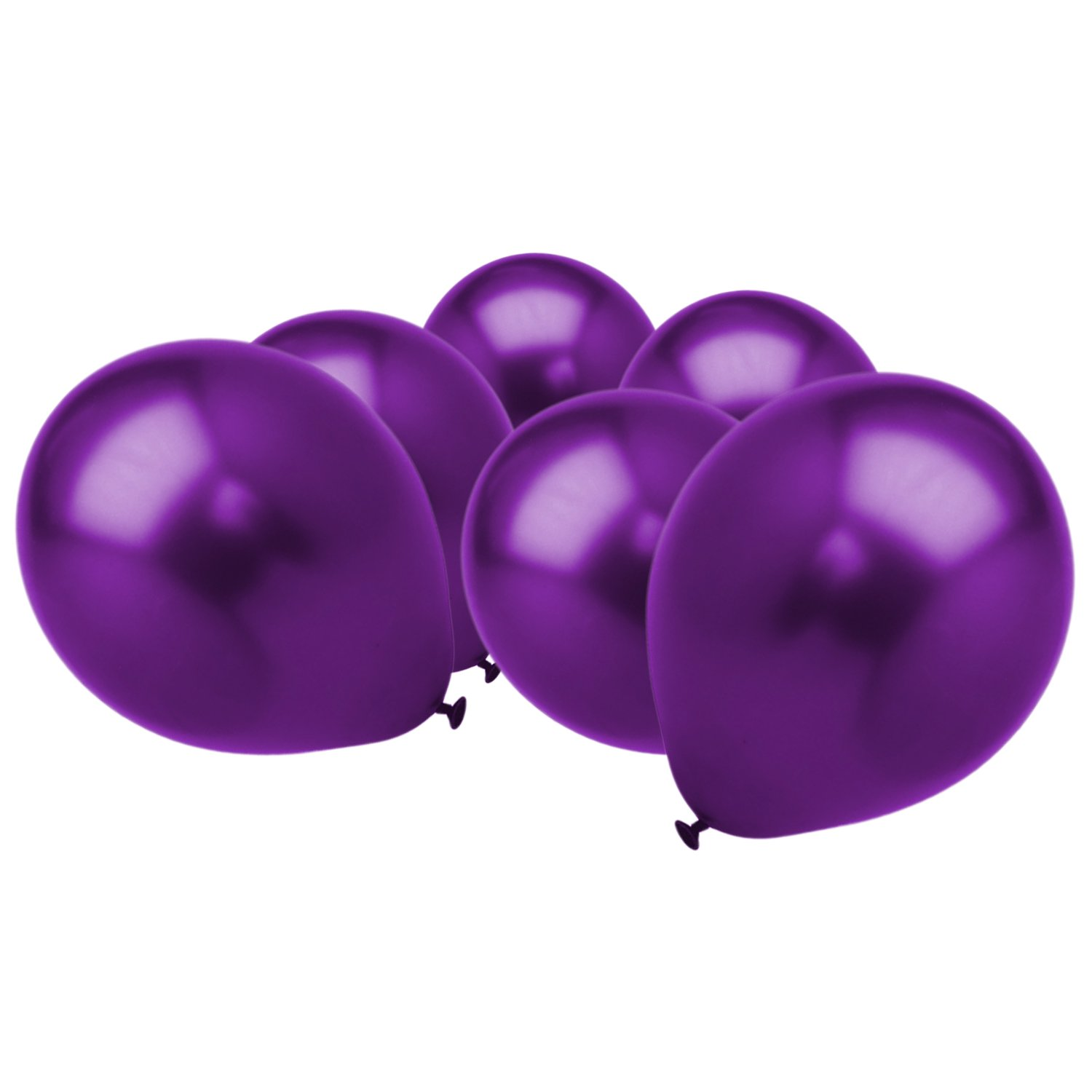 1000 Pack 12Inch High Quality Metallic Cadbury's Purple Latex Party Balloons (1000 Pack)