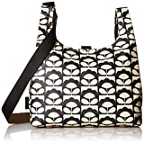 Orla Kiely Spring Bloom Midi Sling Bag, Charcoal