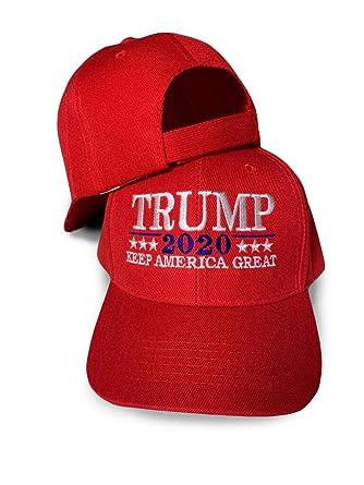 High End Retail Gorra de Donald Trump de Alta Gama, Gorra roja con ...