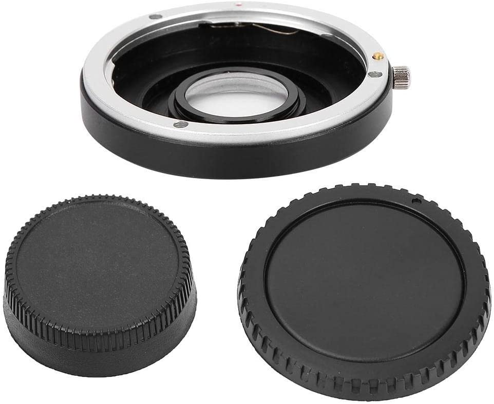 EF-AI Manual Focus Lens Adapter Ring Converter for Canon EOS Lens to Fit for Nikon AI F Mount SLR Camera Pomya Lens Adapter Ring Mount