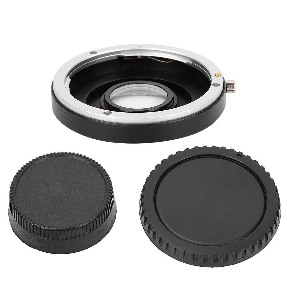 EF-AI Lens Mount Adapter Ring,Professional Manual Focus Lens Adapter,Metal Lens Adapter Ring for Canon EOS Lens,for Nikon SLR Cameras Ai F Mount