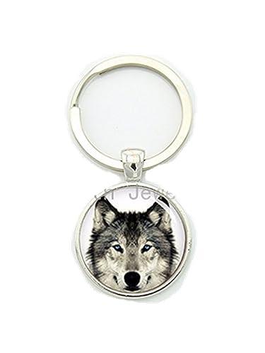 Amazon.com: clásico Naturaleza Arctic Wolf Wild Life clave ...