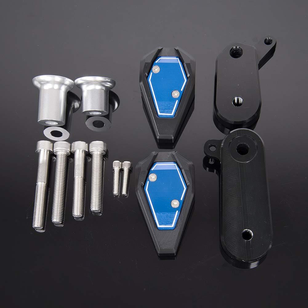 vert LoraBaber Protection de protection antid/érapante pour ch/âssis de motocyclette pour Kawasaki Ninja ZX6R ZX 6R 2009-2012 Cache moteur 2010 2011