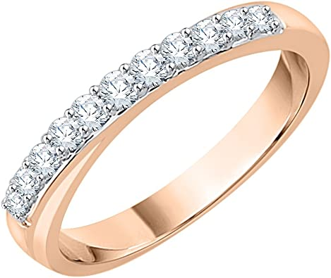 1//5 cttw, G-H,I2-I3 Size-4 Diamond Wedding Band in Sterling Silver