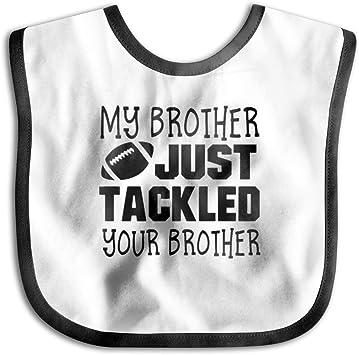 I Love My Brother Boys Girls Baby Feeding Bib Gift One Size