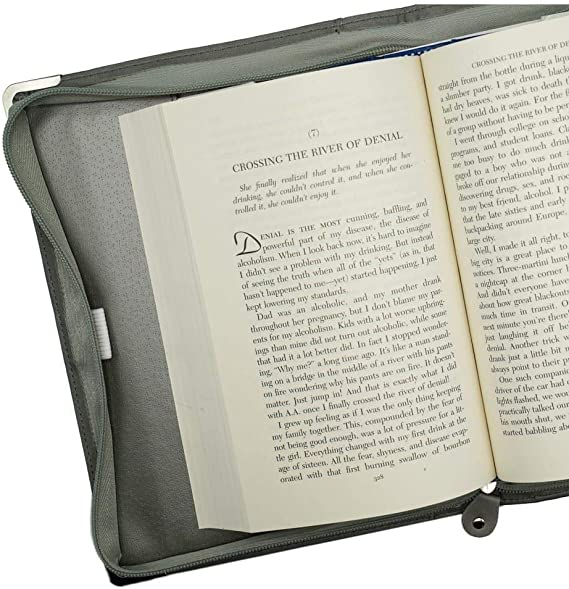 Softcover Big Book 4th Edition with Gray Book Cover Case Includes AA Big Book Softcover with Zip Up Case