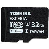 Toshiba 32GB Micro SDHC Class 10 UHS-I Exceria U3 Read 95MB/s Write 60MB/s Memory Card (SD-C032GR7VW060A)