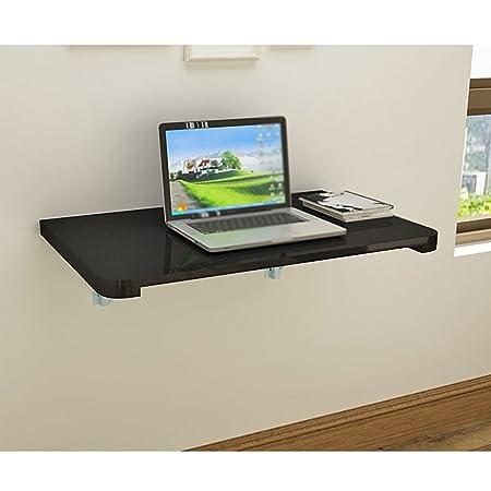 Mesa de pared con soporte doble contra la mesa plegable de pared ...