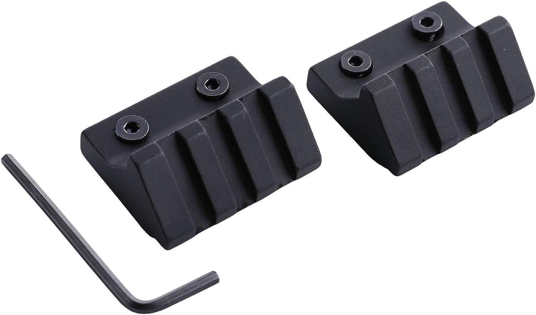45 gradi offset VISIERASbarre e Kornsi adatta per 21 mm Picatinny//Weaver