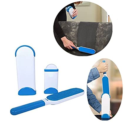 Techsun Mart Reusable Washable Pet Fur Lint Brush Clothes Fluff Fur Hair Remover Dog Cat Hair Remover Brush From Clothing And Sofa