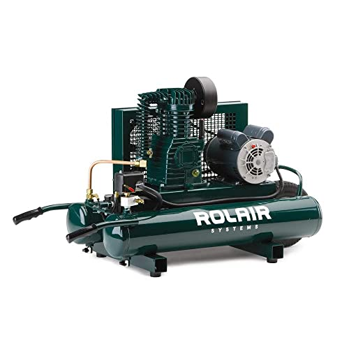 Rolair, 5715K17, Air Compressor, 1.5 HP, 115 230V, 135 psi