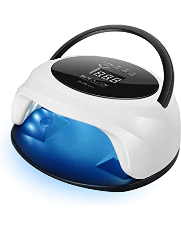 54W Nail Lamp, BOLASEN UV LED Nail Dryer with 36 Light Beads, Dual Light