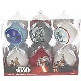 Star Wars sdtsdt89744–Set Weihnachtskugeln, Weiß