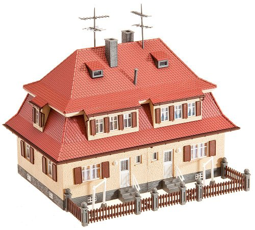 Faller 130464 Duplex House with Dormers HO Scale Building Kit