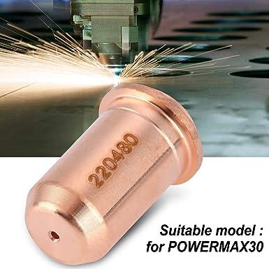 5pcs 220480 Consommables pour embout de buse pour torche MAX30Plasma Pointe de buse plasma 5pcs 220478 /électrodes