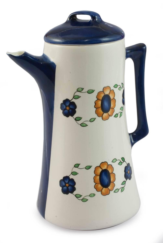 NOVICA Floral Margarita' Ceramic Coffee Pot