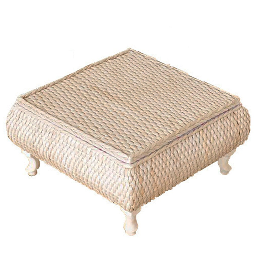 Seat Cushion Storeable Coffee Table Can Withstand Weight 150KG Bay Window Table Platform Table Yoga Mat Lazy Sofa Furniture Accessories (Color : Beige, Size : 484828 cm)