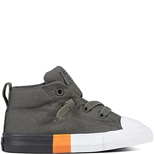official photos d0a44 403fe Converse Unisex Babies  Chuck Taylor CTAS Street Mid Canvas Slippers, Grey  (River Rock Almost Black 088), 5 UK  Amazon.co.uk  Shoes   Bags
