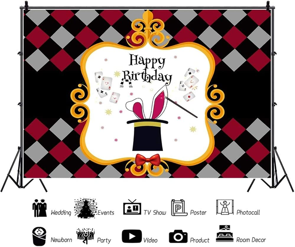 Amazon.com: DORCEV - Fondo para fotos de cumpleaños: Camera ...