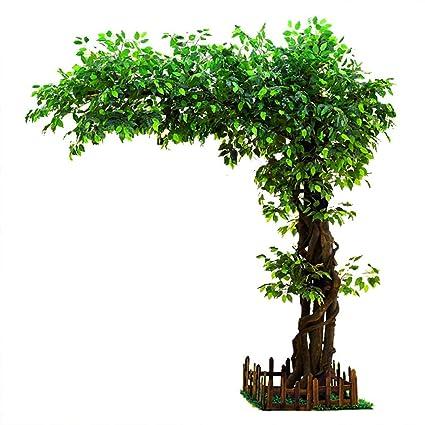 Amazon.com: Artificial Tree Big Banyan Tree Large Plant ...
