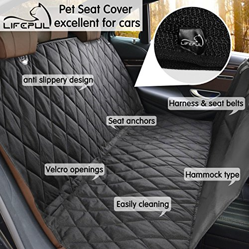 Pet Seat Cover LifepulTM Dog Seat Cover For Cars Anti