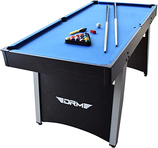 DRM 5FT 2 in 1 Combo/Game Table Set Billiard Pool Table Table Tennis table PingPong Table with All Accessory