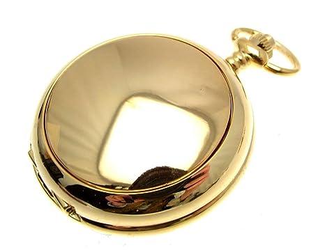 Relojes de bolsillo para los hombres relojes de bolsillo de cuarzo de oro relojes de bolsillo: Amazon.es: Relojes