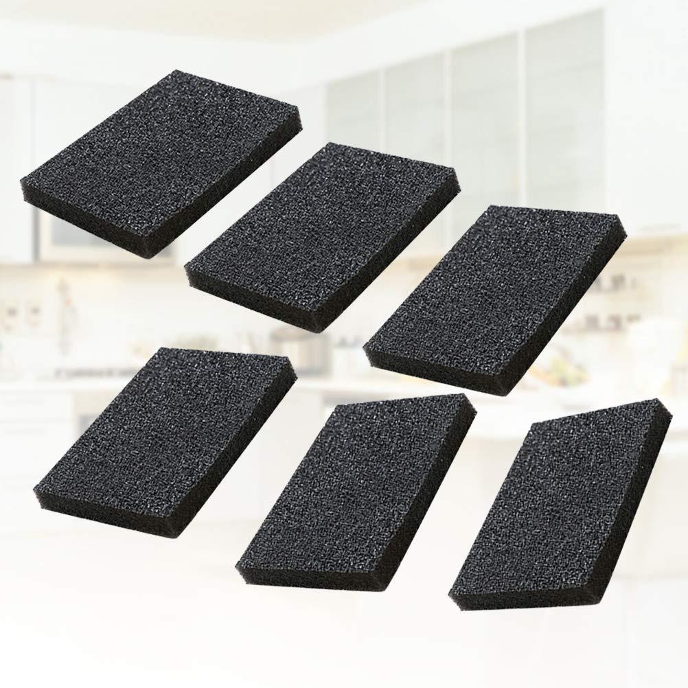 Yardwe Magic Nano Emery Sponge Carborundum Emery /Éponges de nettoyage pour r/écurer les casseroles 5pcs Noir