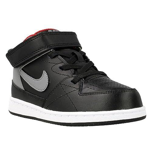 c9cf3ff153884 Nike - Priority Mid TD - 653678096 - Couleur  Gris-Noir - Pointure ...