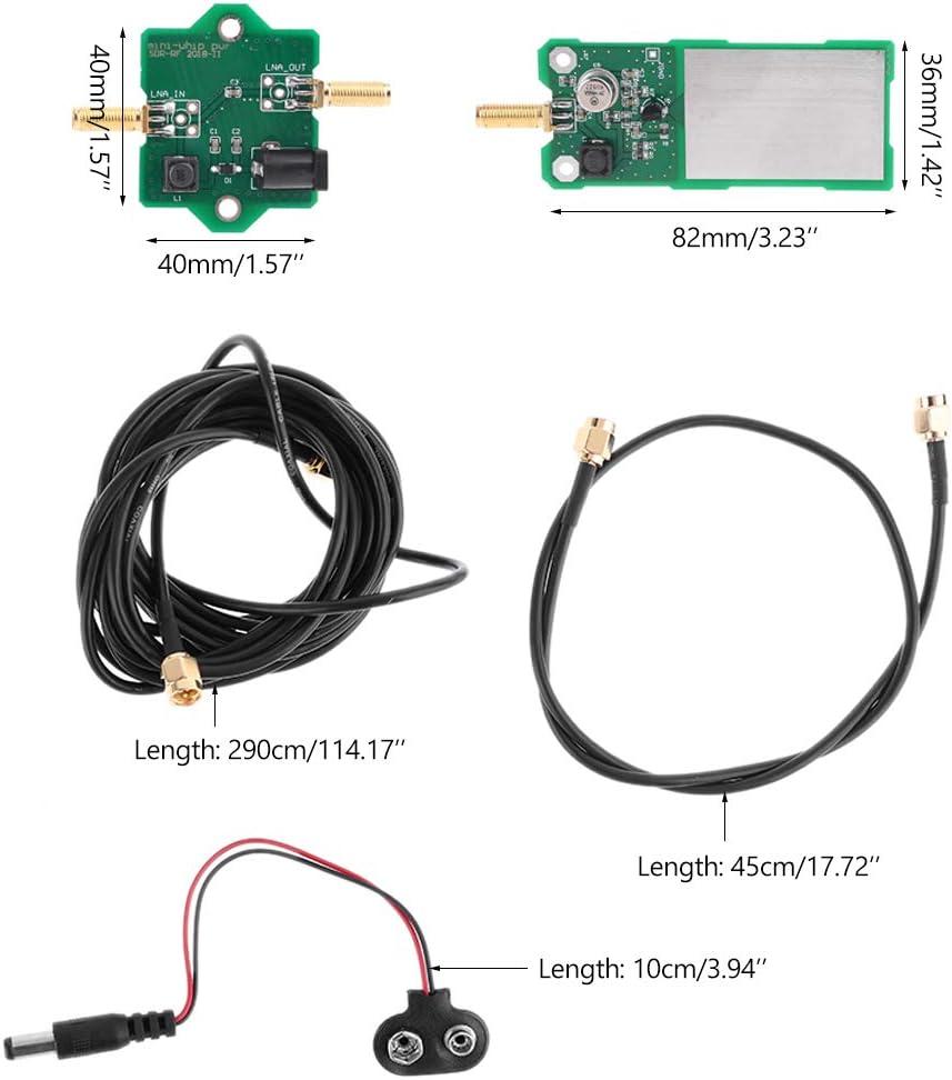 AOIXBCUROC Mini-Whip Mf/Hf/VHF Antena Sdr Miniwhip de onda ...