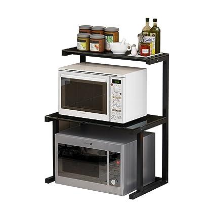 Horno microondas Horno Multifuncional Rack Cocina Estante Multifuncional Creativo Estante 60 * 38 * 75 cm