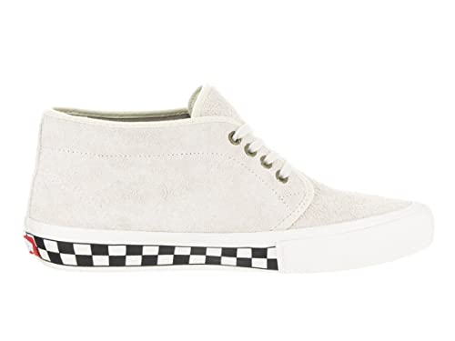 21b1efc5655 Vans Men s Chukka Pro Foxing Checkers White Suede Skate Shoe Size 7 Mens   Amazon.ca  Shoes   Handbags