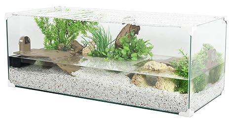 ZOLUX Acuario tortue-aquaterrarium para Tortuga de Agua de 100 cm