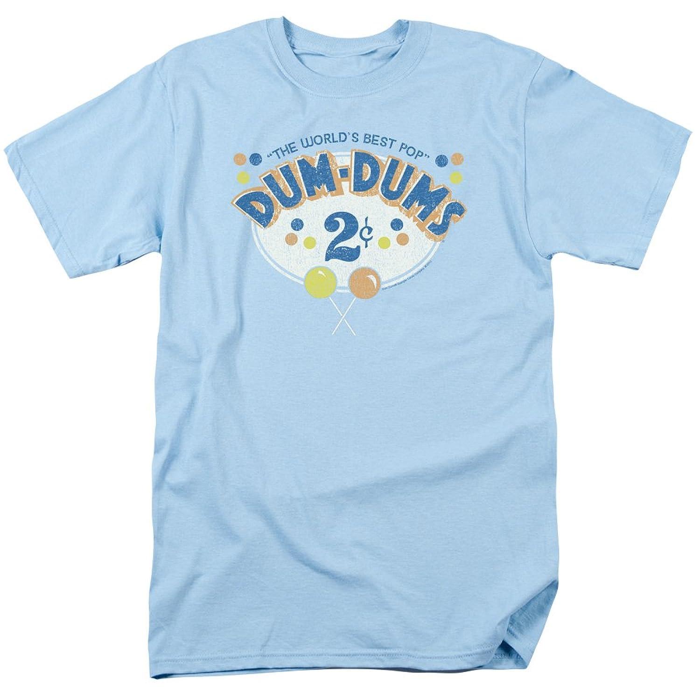 Dum Dums Candy Lollipop 2 Cents Adult T-Shirt Tee