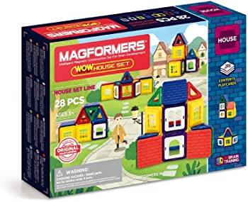 Magformers Wow House 28Pc Set Building Kits