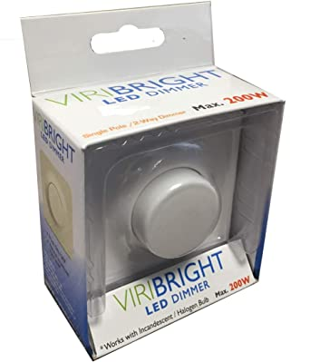 Viribright – Regulador de intensidad LED (220 V CA, 1 A, Max.