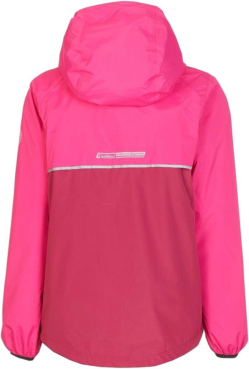 KILLTEC Girls Siema Jr Rain Jacket