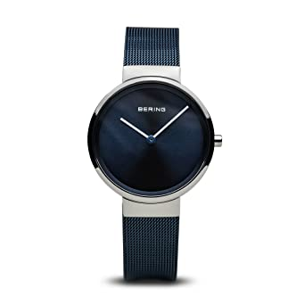 BERING Time 14531-307 Womens Classic Collection Watch with Mesh Band and Scratch Resistant Sapphire