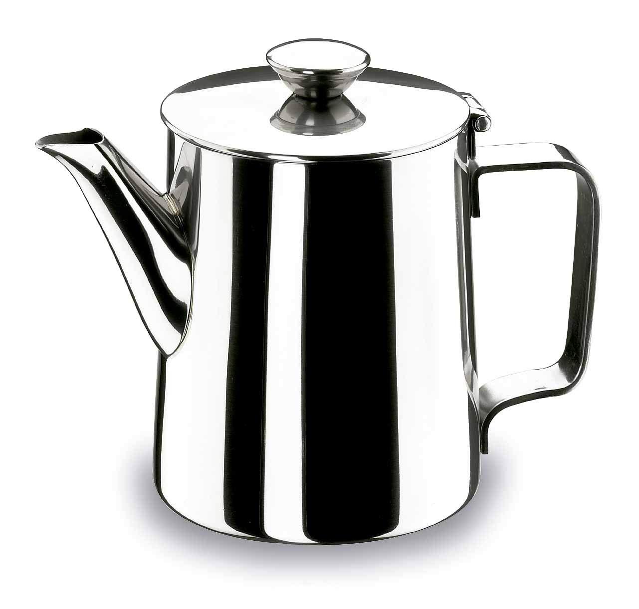 Lacor - 62110 - Cafetera Classic Inox. 1 litro: Amazon.es: Hogar