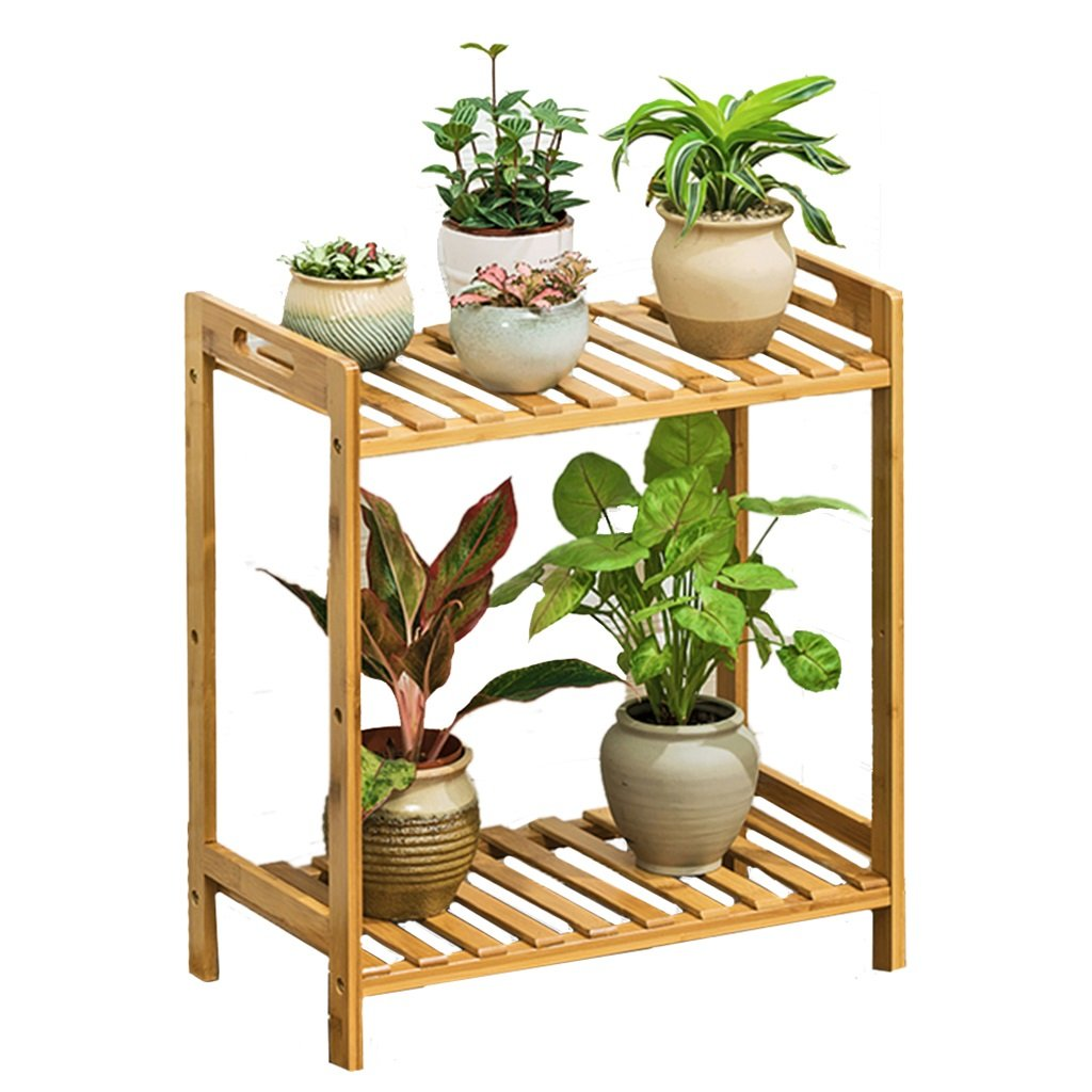 più economico LXF telaio vaso di di di fiori Flower Pot mensola della cremagliera basamento di bambù multistrato Soggiorno di legno solido ( dimensioni   50cm length )  per il commercio all'ingrosso