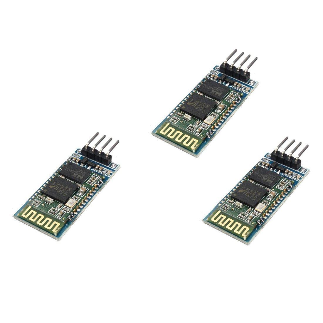 SODIAL R 3 Pcs JY-MCU HC-06 Arduino Wireless Bluetooth Serial RF 5V Transceiver Module