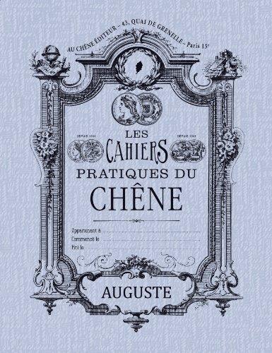 Cahier rétro Auguste