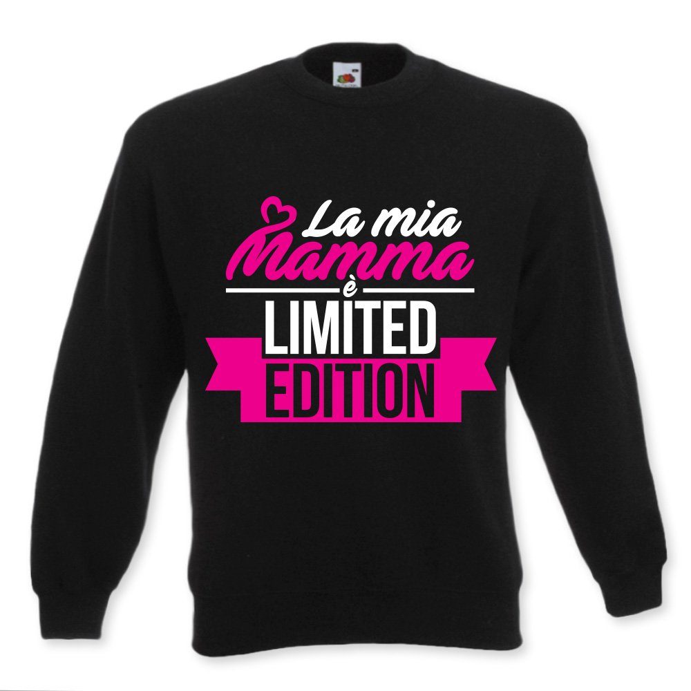 Felpa Bambino Neonato Idea Regalo Baby Per La Mamma Mamma Limited Edition FELBFM-136