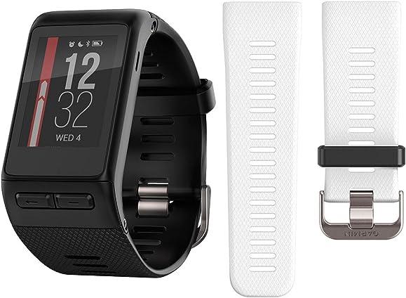 Garmin vivoactive HR GPS Smartwatch Regular Black w Extra Band 010-01605-A0