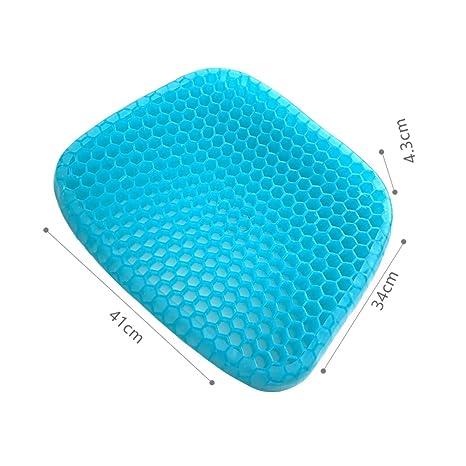 Amazon.com: QIAOTT - Cojín de gel con diseño de panal de ...