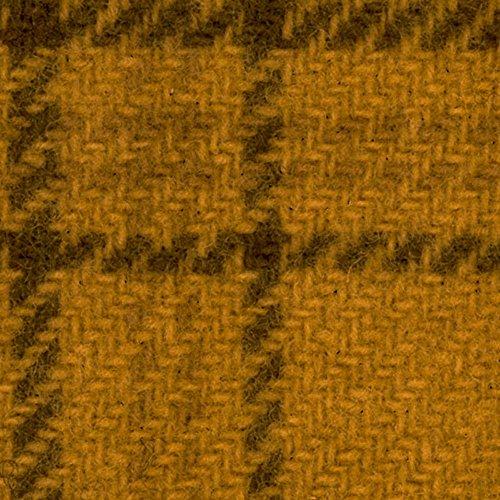 Plaid Fabric Glen (Primitive Gatherings Hand Dyed Wool Goldstar Glens Plaid 15 inch x 25 inch Cut Piece Moda PRI 5023)