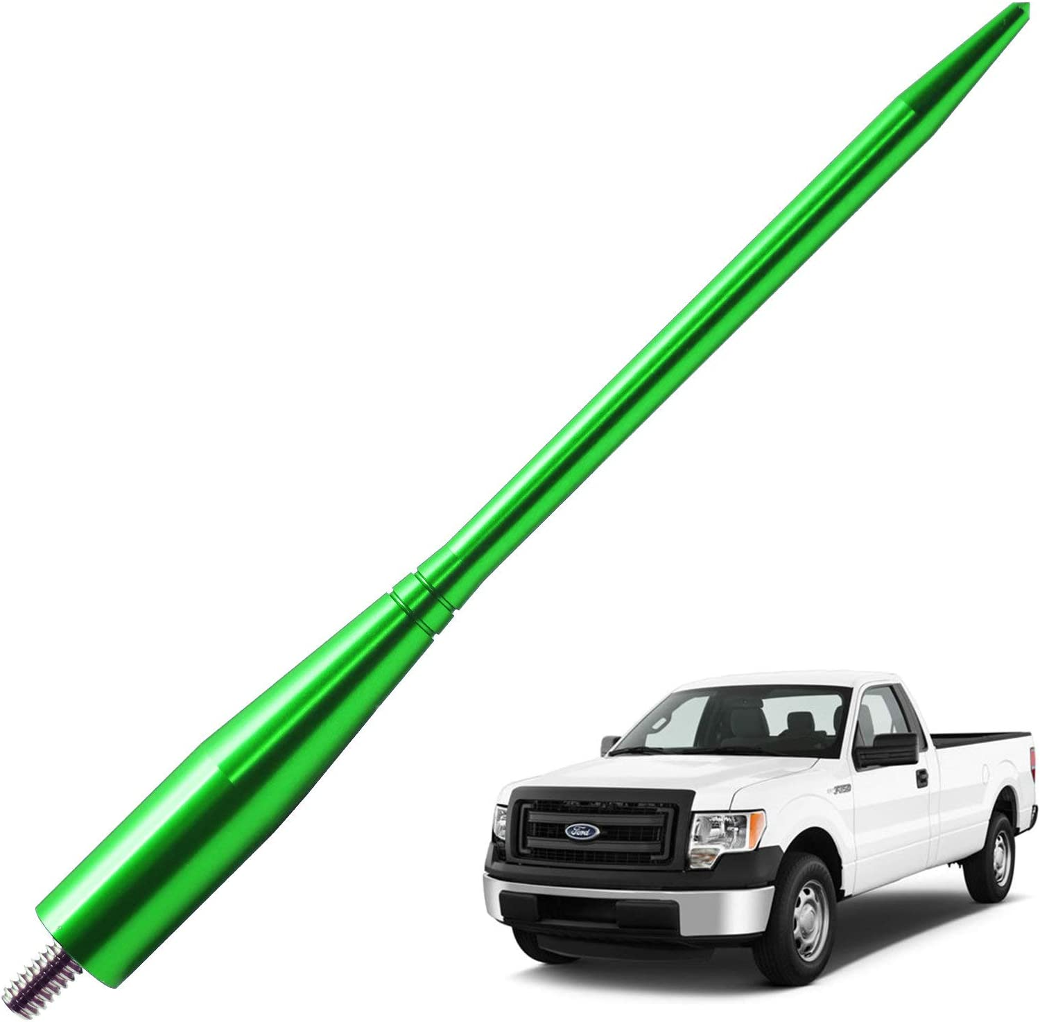 6.75 inches-Green JAPower Replacement Antenna Compatible with GMC Terrain 2010-2018